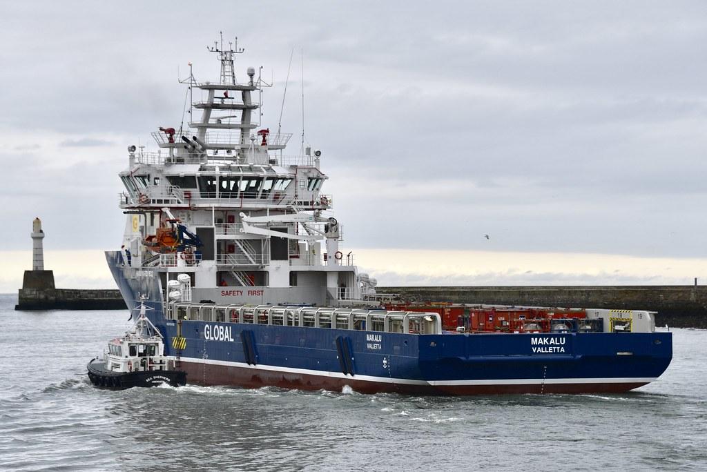 Makalu - Aberdeen Harbour Scotland - 12/6/2018 | IMO number9