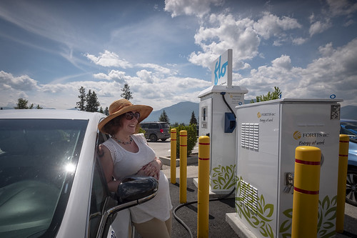 Accelerate Kootenays Gives Electric Vehicles A Boost   by BC Gov Photos