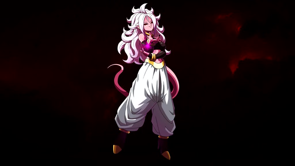 Dragon Ball Heroes Anime Majin Android 21 Live Wallpaper A Photo On Flickriver