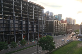 Iron Clad and East End apartments construction Minneapolis 6-8-18 | by bapster2006