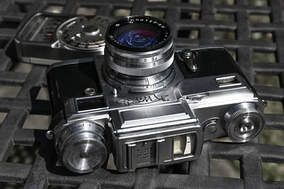 KIEV Rangefinder & Weston Light Meter