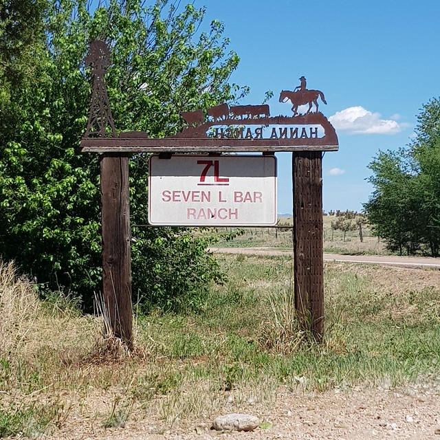 Thu, 05/31/2018 - 10:34 - Horse and cow country for sure. One of the few ranch signs along the way
