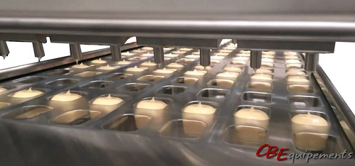 223 - Ligne mini portions - Dosage Pompable - 3x8 alvéoles par cycle - Mayonnaise