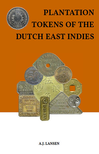 Plantation Tokens of the Dutch East Indies book cover | by Numismatic Bibliomania Society