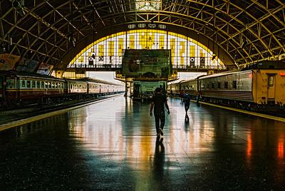 Bangkok, Central Station Hua Lamphong
