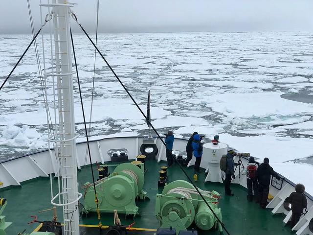 El barco con el que haremos la expedición a Svalbard