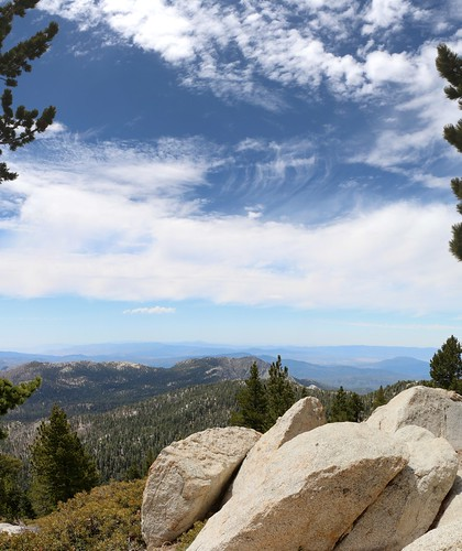 602 View west toward Tahquitz Peak from the San Jacinto Peak Trail at Wellmans Divide   by _JFR_