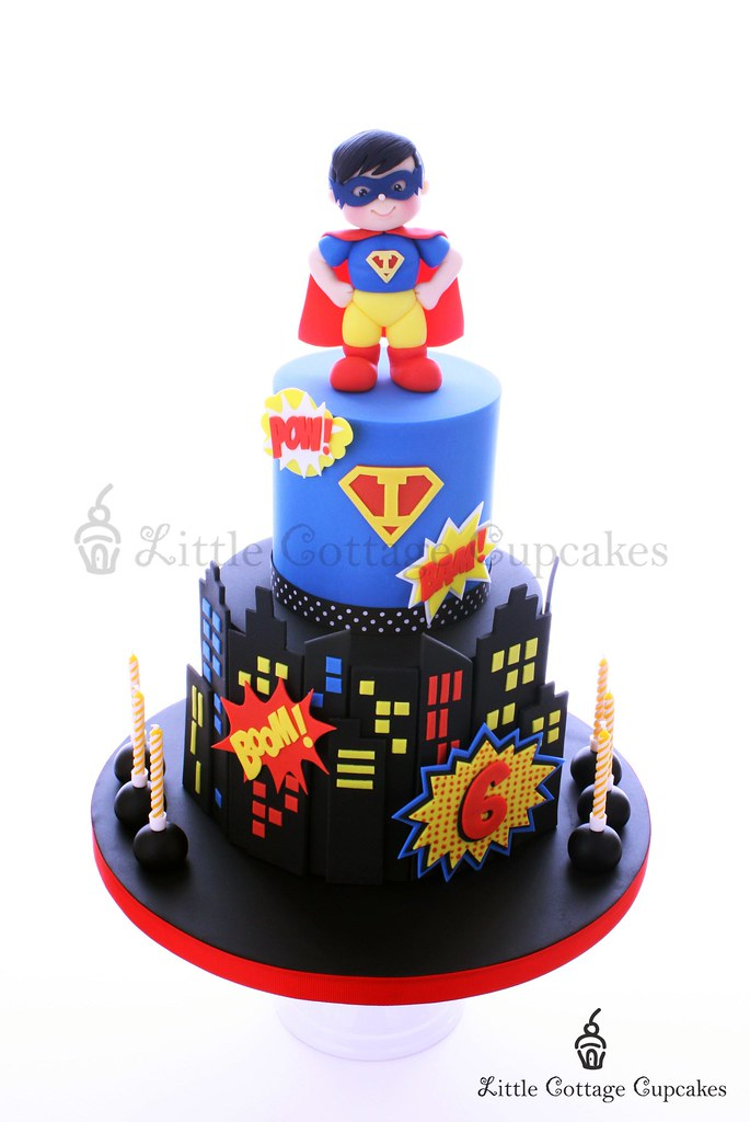 Stupendous Super Isaac 6Th Birthday Cake For My Boys 6Th Birthday Su Flickr Funny Birthday Cards Online Alyptdamsfinfo