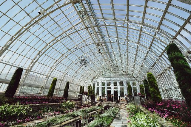 Sunken Garden, Como Conservatory 5/18/18 #comoconservatory #comozoo