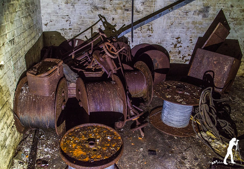 Lost Places: Gussstahl und Drahtseilfabrik | by smartphoto78