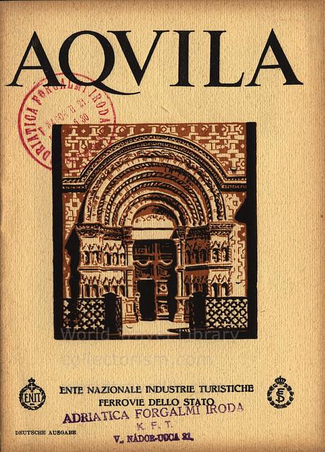Aquila; 1930_1, Abruzzo r., Italy