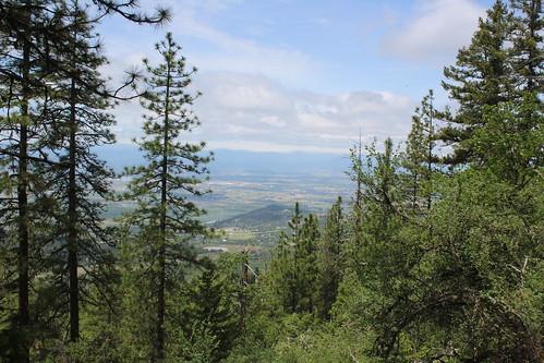 roxy ann peak prescott park medford bear creek valley ashland oregon hiking