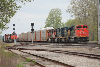 CN Line up, Port Huron | by tcamp7837