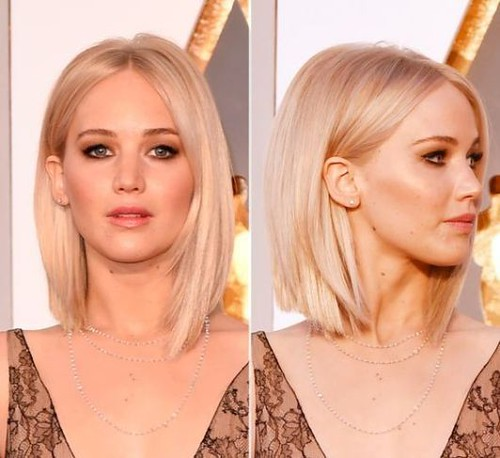Pin Straight Hair Is Really Cute For Long Bob Hairstyles