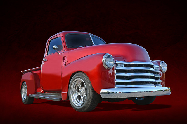 Red Hot Chilli Pepper - 1952 Chevy Pickup
