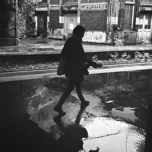 #Storm #rouenparisrouen #rouen #gare #train #tw