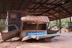 Remnants of Ta Mok's propaganda truck