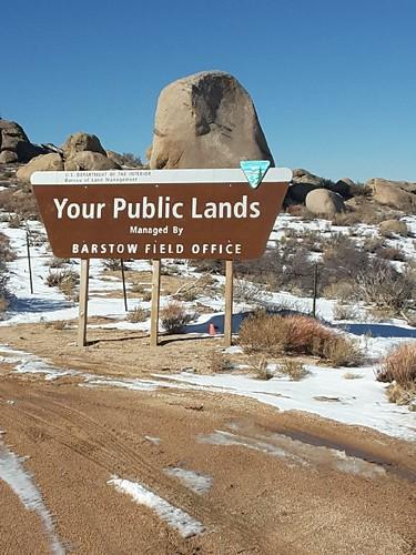 Sign in Juniper Flats