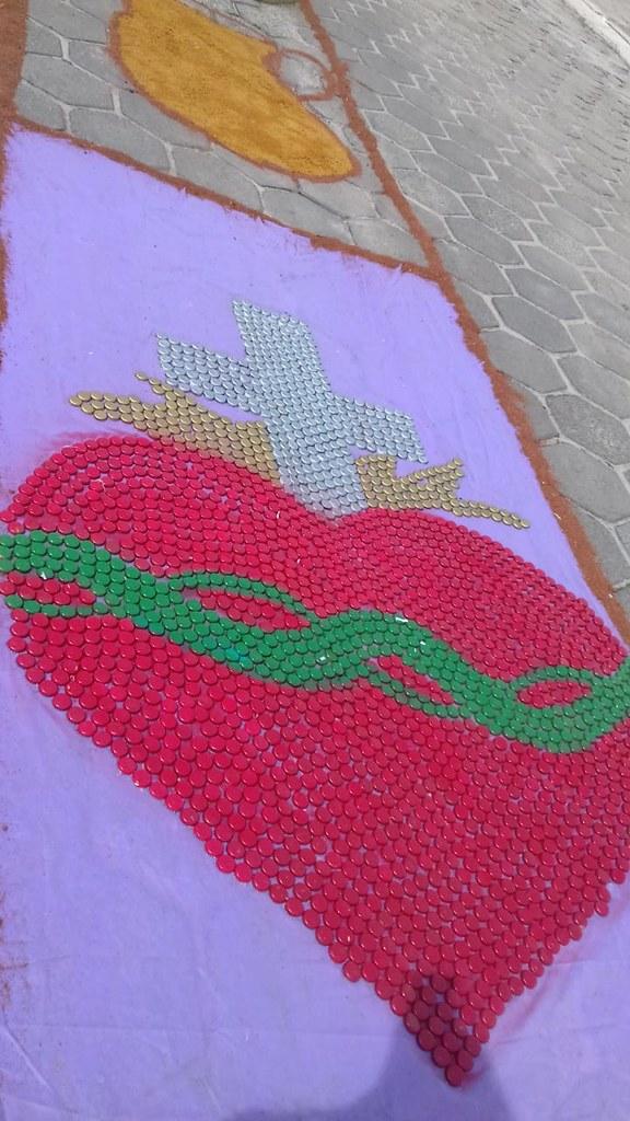 Confecção de tapetes mantém a tradição no feriado de Corpus Christi em Prado (12)