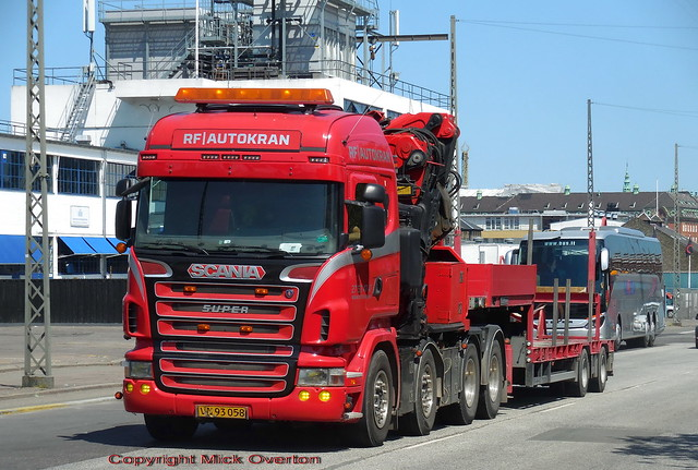 RF Autokran 2007 Scania R500 v8 VN93058 still in excellent condition for its age
