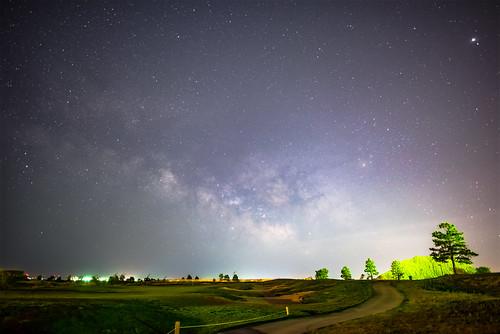 night stars long exposure milky way milkyway