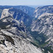 Half dome + valley from Clouds Rest