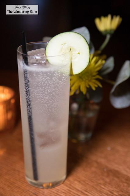 Easy Breezy - vodka, elderflower, cucumber, lemon