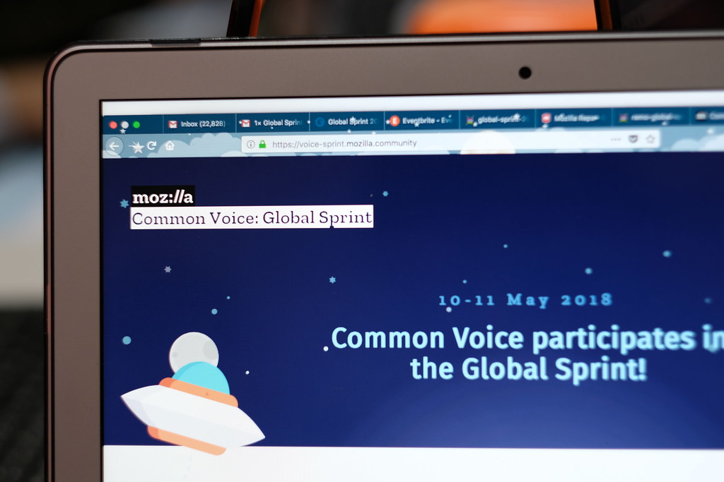 Mozilla Global Sprint Common Voice - Jakarta