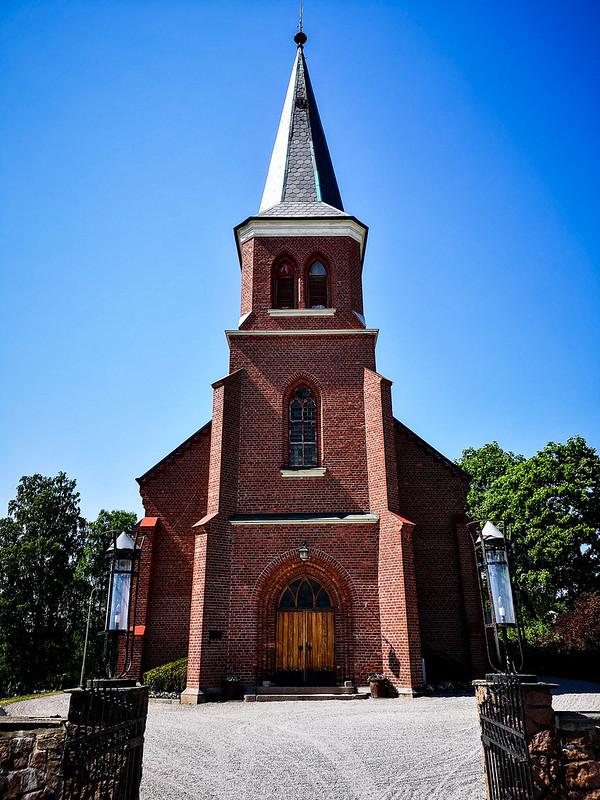 40-Skoger nye kirke