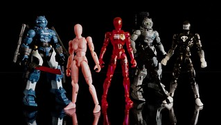Microman + World Peacekeepers Ammobots | by domu_x