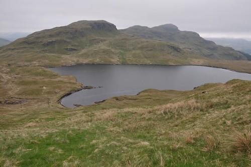 Lochan nan-Cnaimh & Cruach nam Mesieag