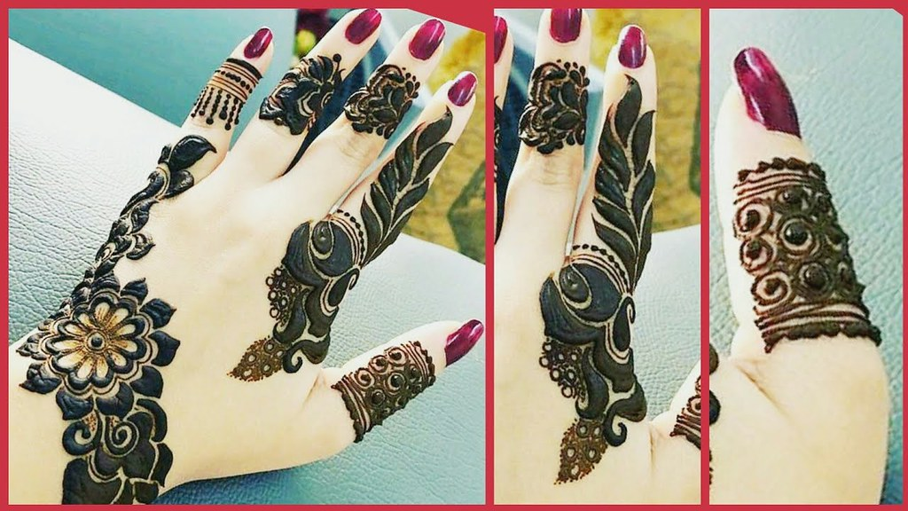Simple Easy Stylish Mehndi Designs For Girls Latest Me