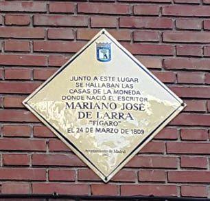 Paseo literario por el Madrid romántico de Larra y algo más