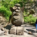 Wooden Mr Potato Head