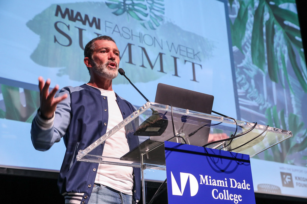 Antonio Banderas | Miami Fashion Week Summit 2018, May 31, 2
