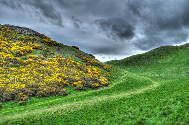 Holyrood Park paths