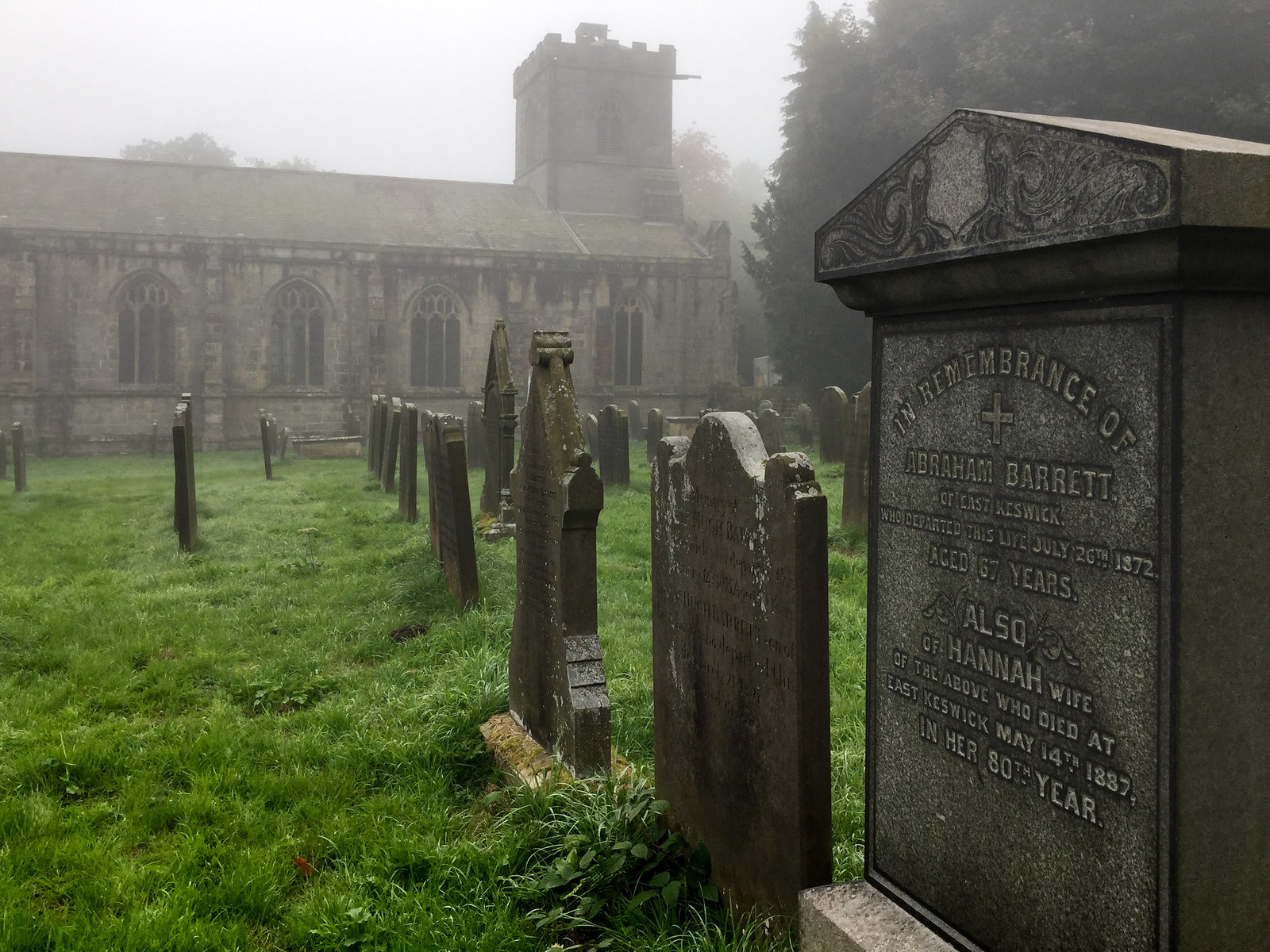 Harewood West Yorkshire - Churchyard