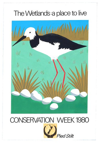 'Wetlands: A Place to Live' artwork, 1980 | by Archives New Zealand