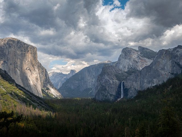 Tunnel view in late afternoon