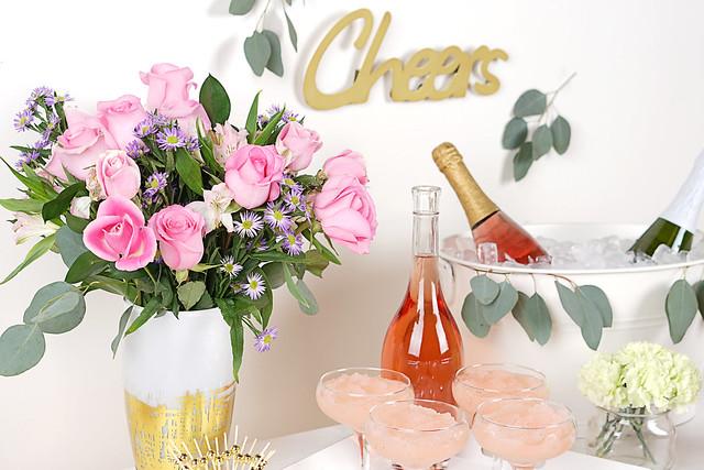 Frosé Bar Bouquet