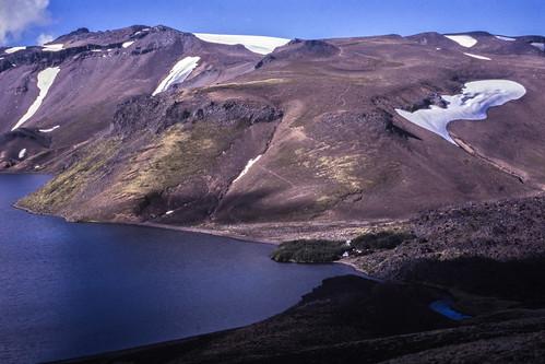 andes chile chilecentral regióndelaaraucanía parquenacionalvillarrica lagunaazul canogastour canogas1995 volcánquetropillán campamento regióndelosríos