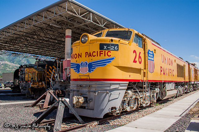 UP X-26 | GE 8500 GTEL | Utah State Railroad Museum