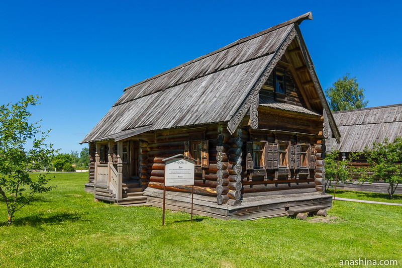 Дом XIX века из деревни Васенино Гороховецкого района