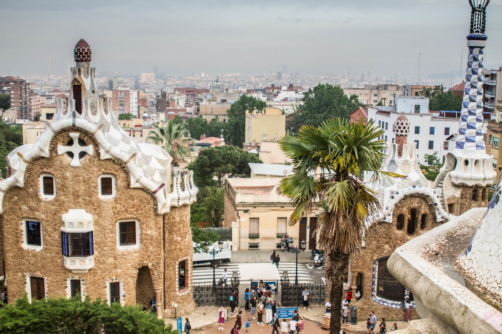 Earning Money From a Travel Blog, Park Güell