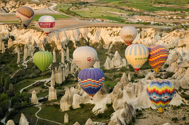 Turkey:  Ballooning In Cappadocia - Photo #1