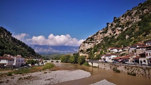 albania berat europe balkans bridges fortifications