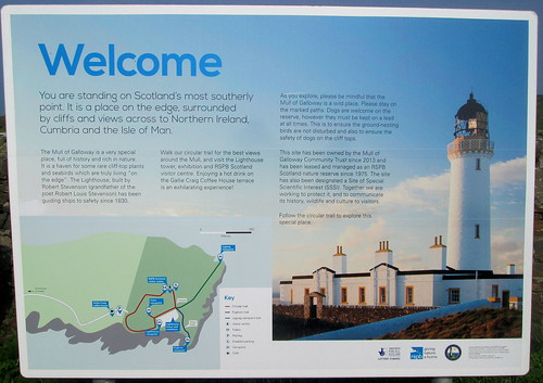 Mull of Galloway Info Board