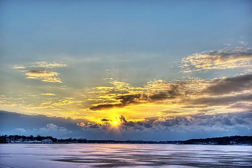 park winter sunset lake snow holland ice frozen michigan hdr macatawa kollen 5xp abigfave aplusphoto imgp3123hp1f