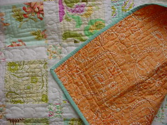 fresh cut quilt back   by crazymomquilts