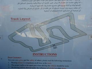 Go Karting Circuit in Seef